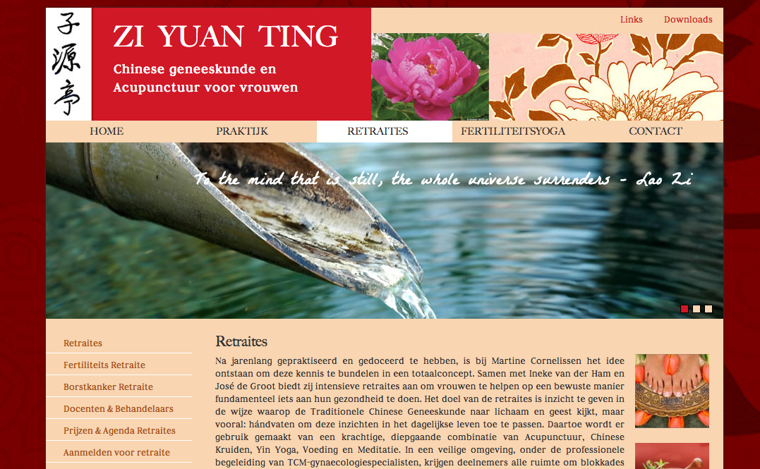 Zi Yuan Ting website