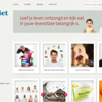 WordPress website van t Riet