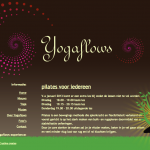 WordPress website Yogaflows