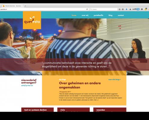 WordPress website techniek Queresta.nl