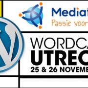 Mediatopia sponsort WordCamp Utrecht 2017